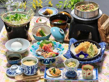 【旬彩-shunsai-】ホテル君佳特選◆季節のこだわり食材を使った和会席を味わう♪
