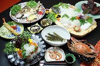 【スタンダード】 旬の新鮮魚介を堪能する! 「海鮮Bプラン」