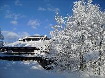 【雪見酒】2大特典付!冬を満喫☆お部屋から眺める、銀世界
