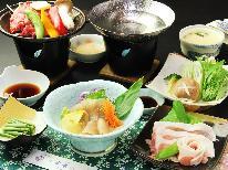 【牛×豚コラボ企画】お肉満喫プラン♪ブランド牛陶板焼&県産豚肉のしゃぶしゃぶ