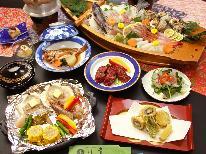 2017夏旅☆海鮮を陶板焼きで味わう♪舟盛+洋風海鮮陶板焼きコース