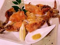 【季節限定】今ここでしか食べられない幻の脱皮蟹!を味わう【脱皮蟹】
