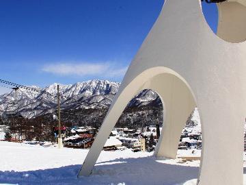 【春スキー価格/リフト2日券付】 栂池高原スキー場のリフト券付き!宿泊コミコミ一泊二食プラン