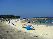 【夏休み・お子様歓迎】宿から海まで水着で移動できちゃう♪お子様にアイスのサービス付♪《1泊2食付》