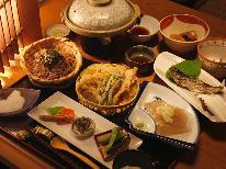【グレードUP】特製ごま豆腐も召し上がってください★食前酒付き
