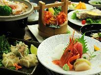 【期間限定】地魚&地酒を堪能☆新鮮食材の創作和食~季節のお刺身6点盛り~