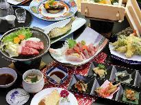 【-sakura桜-】新潟の海の幸!山の幸!満載!!厳選した国産和牛の陶板焼きと旬の食材を贅沢に!
