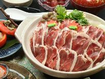 《鴨みそ鍋》お肉の出汁たっぷりに相性抜群な味噌だれ◆地元食材会席コース ☆大浴湯24時間入浴可