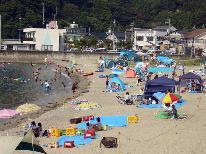 ≪夏休み企画≫海まで徒歩3分♪海水浴&獲れたて海の幸を満喫!夏旅Enjoy☆サマープラン