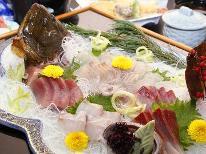 [1泊2食付き9700円~]お得に舟盛海鮮が味わえる♪
