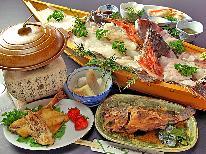 【HP限定価格】☆《欲張りさんはコレで決まり☆》獲れたて旬魚+大漁舟盛+和牛陶板焼【食の競演プラン♪】