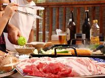 【夜のBBQ】夕食をバーベキュー♪秩父の自然を感じながら、ご家族やお友達と楽しい思い出づくり。1泊2食付