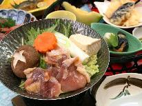 【会津地鶏コース】◇旨味が凝縮された地鶏と鮎の会席料理~癒しの湯でゆったりとしたひと時~