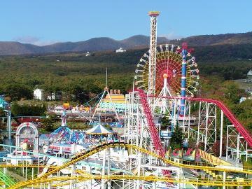 【那須ハイランドパーク40周年記念!】入園無料×ファンタジーパス付で1日思いっきり遊べる♪【期間限定】