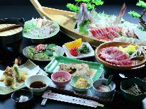【グレードアップ】海鮮料理×知多牛ステーキ付★美味しさは太鼓判です!