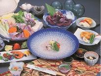 【ふぐ食納め】【プリンプリンの牡蠣の酒蒸しサービス】★ふぐフルコース・ゆでたこ付き【個室食】