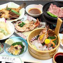 【お肉も食べたい★】淡路牛陶板焼+海の幸満喫プラン[1泊2食付]