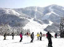 【スキーシーズン到来!当館近くのスキー場をご案内♪】スキー&スノボー満喫☆冬を遊び尽くそう!!≪1泊2食付≫