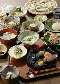 【一泊二食付】鷹明亭 蕎麦会席と四季を彩る旬の食材競演プラン