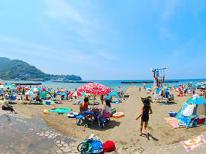 【海水浴】 ビーチまで送迎OK!夏休みは土肥温泉へ!家族みんなで夏遊び
