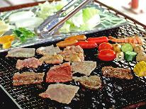 大自然の中で!新鮮野菜と牛豚鶏の肉を味わう高原BBQで味と季節を満喫☆