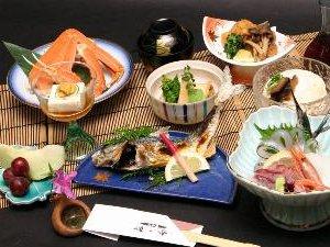 丹後の旬が味わえる季節の会席 【お気軽♪磯ノ香コース】(1泊2食付)