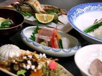 秋の味覚【沖キス・レンコ鯛】丹後秋会席