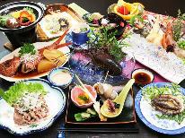 【伊勢海老×あわび】欲張りなあなたにどっちもつけちゃう♪欲張り海鮮料理