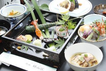 日本海産の食材を堪能☆心のこもった京風会席を愉しむ