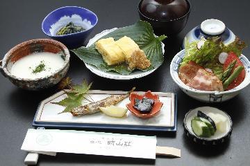 地元産コシヒカリ使用 こだわりの和朝食付きプラン