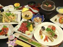 【-kaori香-】馬刺しor和牛のたたき♪選べるメイン料理と和創作を堪能