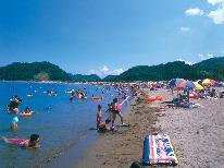 目の前が阿納海岸の美しいビーチ!【夏休み限定】特典付♪海水浴プラン