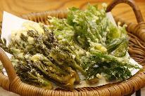 【春の味覚】遠山郷でとれた《 山菜料理&ジビエの山国料理 》 地元の食材を使って 女将が心を込めてつくります!