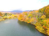 【月山満喫!】天然温泉の五色沼展望風呂と美味しい山の恵み満載の深山料理を堪能♪