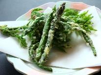 【春期限定】 北信州 ~春の味覚に舌鼓~ 地物山菜と信州牛陶板焼きプラン 《1泊2食》