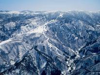 【スキー*天元台高原】東京から3時間で別世界!リフト乗り放題2日券付き〈1泊2食〉