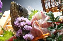 ≪ありがとうプラン 延長決定≫ 【熊野牛&地魚舟盛コラボ会席&貸切風呂】