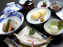 【1泊朝食付】丹後特Aこしひかり&ご主人特製旬の地魚の自家製干物
