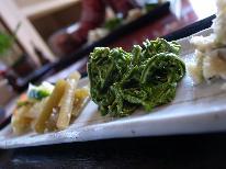 【平日限定】山菜×牛ステーキで美味しい春を満喫☆特典付☆