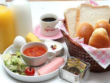 【朝食付き】自然の真ん中で目覚める朝♪美味しい朝食で1日の始まりを