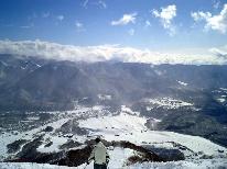 【今年こそ…雪!】【栂池高原スキー場】リフト1日券・1泊2食付プラン 【現金特価!】