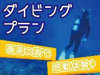 【ダイビングプラン】ご近所のショップとタイアップ♪奄美の美しい海で感動体験を