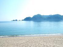 目の前は佐津ビーチ☆海遊びに最適♪季節の会席コース