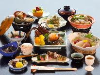 メイン料理選んで満足プラン♪【伊勢海老or鮑or松阪牛】お好きな食材お好きな調理法で♪