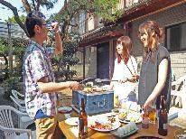 【夏限定】海水浴場まで徒歩1分!!登喜丘荘でハッピープライスBBQ☆1泊2食付♪