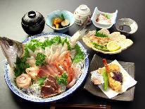 旬の海の幸・舟盛にてドーン!!!( ゚д゚)舟盛なら登喜丘荘で決まり☆