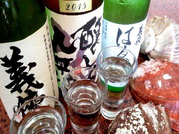 【呑み比べ】とくがねお薦めの地酒3種を呑み比べ(^^)/