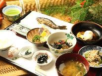 【朝食評価4.7獲得!!】ふっくらごはんとニジマスの甘露煮をいただくヘルシー朝食付プラン