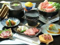 藤太郎 贅沢飛騨牛づくし 【牛すき】or【牛鍋】選べるメインと人気の飛騨牛にぎり
