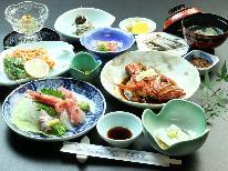 《夕食のみ》朝はゆっくりorアクティブ外出 定番人気♪旬のおまかせコース(夕食付)